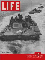 Life Magazine, August 21, 1944 - Amphibious attack