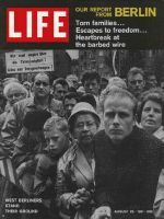Life Magazine, August 25, 1961 - West Berliners, Germany