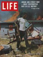 Life Magazine, August 27, 1965 - Watts riots
