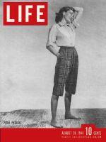 Life Magazine, August 28, 1944 - Pedal pushers