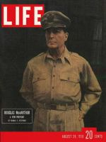 Life Magazine, August 28, 1950 - UN commander, General McArthur