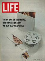 Life Magazine, August 28, 1970 - Composite: pornography