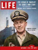 Life Magazine, September 1, 1958 - Subpolar crossing