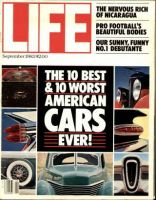 Life Magazine, September 1, 1983 - All About Cars