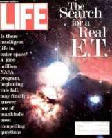 Life Magazine, September 1, 1992 - NASA Searches For Aliens