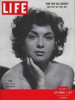 Life Magazine, September 3, 1951 - Gina Lollobrigida