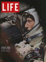 Life Magazine, September 3, 1965 - Astronaut Charles Conrad at lift-off