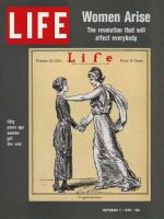 Life Magazine, September 4, 1970 - Liberty congratulates Woman Voter