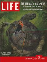 Life Magazine, September 8, 1958 - The Galapagos Islands