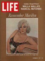 Life Magazine, September 8, 1972 - Marilyn Monroe