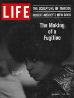 Life Magazine, September 11, 1970 - Angela Davis