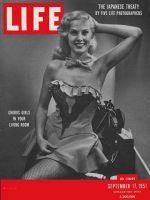 Life Magazine, September 17, 1951 - Chorus girl