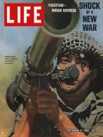 Life Magazine, September 17, 1965 - Indian soldier wields bazooka in Kashmir