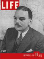 Life Magazine, September 18, 1944 - Governor Dewey