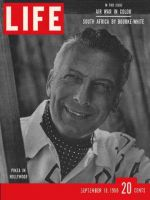Life Magazine, September 18, 1950 - Ezio Pinza