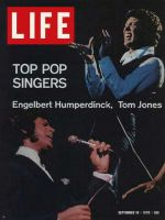 Life Magazine, September 18, 1970 - Engelbert Humberdinck and Tom Jones