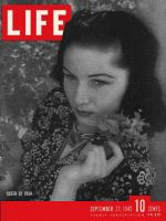 Life Magazine, September 21, 1942 - Iran's Queen Fawzia