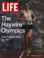 Life Magazine, September 22, 1972 - Olympic Marathoner Frank Shorter