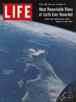 Life Magazine, September 24, 1965 - Baja California from spaceship