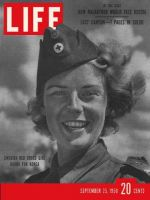 Life Magazine, September 25, 1950 - Swedish Red Cross woman
