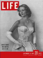 Life Magazine, September 26, 1949 - Separates, fashion