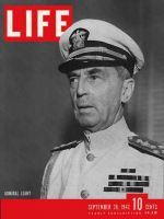 Life Magazine, September 28, 1942 - Admiral Leahy