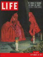 Life Magazine, September 28, 1953 - Biarritz ball