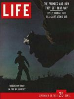 Life Magazine, September 29, 1958 - The Big Country