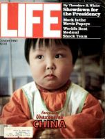 Life Magazine, October 1, 1980 - Chinese Child