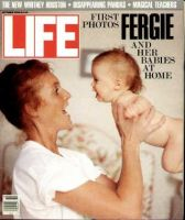 Life Magazine, October 1, 1990 - Fergie With Baby