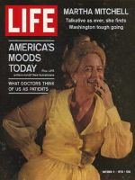 Life Magazine, October 2, 1970 - Attorney General's wife Martha Mitchell