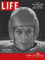 Life Magazine, October 3, 1949 - Football roundup