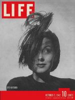 Life Magazine, October 5, 1942 - Eye-catcher hats