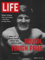 Life Magazine, October 6, 1972 - Dallas Cowboy's tackle Bob Lilly, football