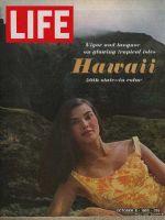 Life Magazine, October 8, 1965 - Hawaiian beauty, Hawaii