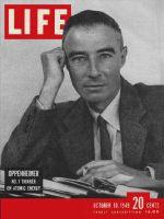 Life Magazine, October 10, 1949 - J.R. Oppenheimer