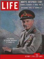 Life Magazine, October 13, 1958 - Monty's memoirs