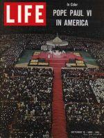 Life Magazine, October 15, 1965 - Pope Paul VI in Yankee Stadium