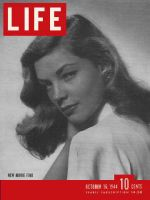 Life Magazine, October 16, 1944 - Lauren Bacall