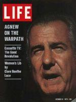 Life Magazine, October 16, 1970 - Spiro Agnew