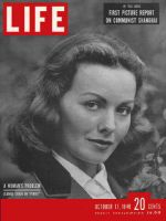 Life Magazine, October 17, 1949 - Jeanne Crain