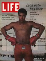 Life Magazine, October 23, 1970 - Muhammad Ali, boxing