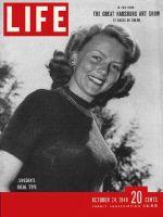 Life Magazine, October 24, 1949 - Swedes' ideal: Haide Goranson