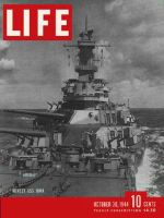Life Magazine, October 30, 1944 - Super battleship