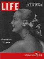 Life Magazine, October 30, 1950 - Faye Emerson