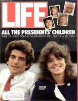 Life Magazine, November 1, 1984 - John Kennedy Jr. and Caroline