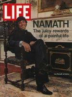 Life Magazine, November 3, 1972 - Jets' Joe Namath, football