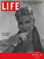 Life Magazine, November 5, 1951 - Ginger Rogers
