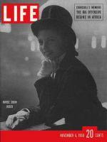 Life Magazine, November 6, 1950 - National Horse Show