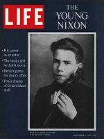 Life Magazine, November 6, 1970 - Nixon at 14